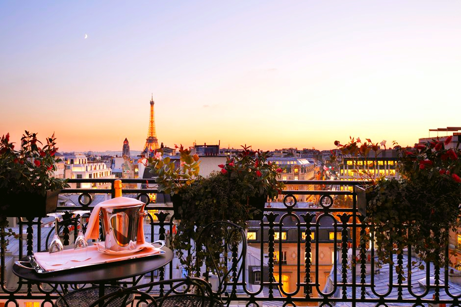 Hotel Balzac Paris-view