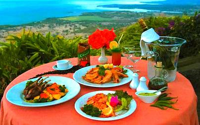 Restaurant Le Chamarel Chamarel-Salade de calamar a la Mauricienne