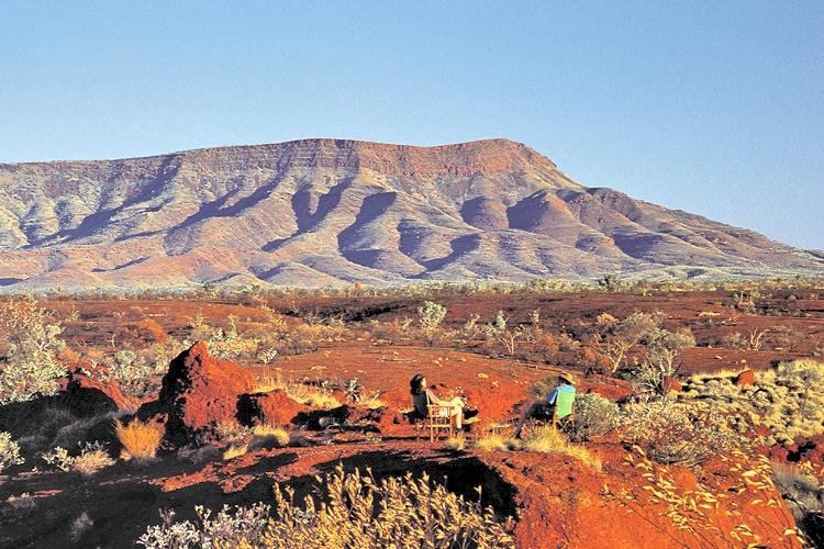 Sheila Mount-Hamersley Range