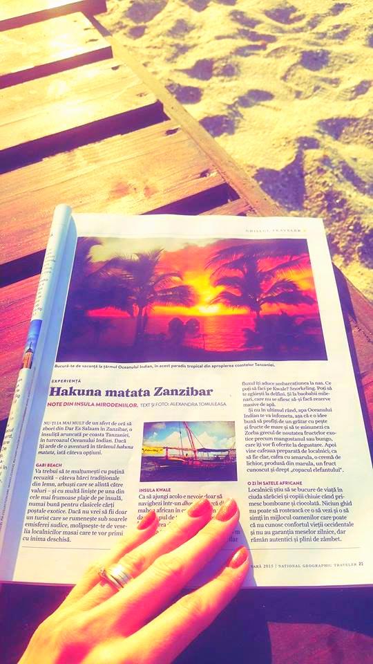 Article Hakuna Matata Zanzibar