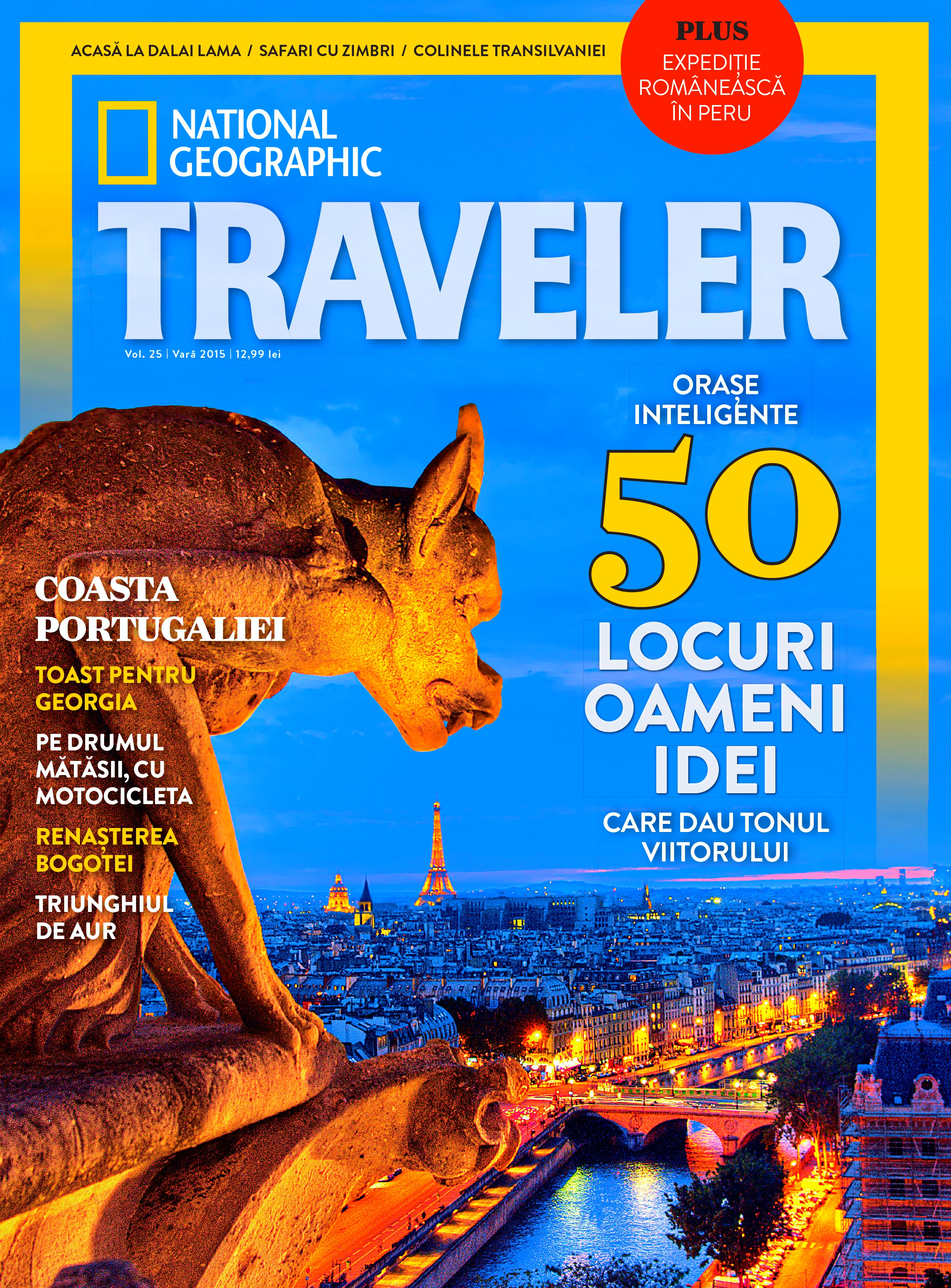 Cover Traveler by National Geographic-Summer 2015