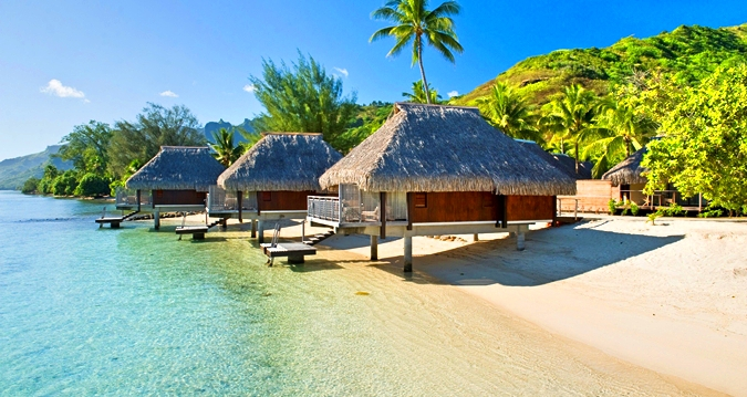 Hilton Moorea Lagoon Resort&Spa-King Lagoon Bungalow