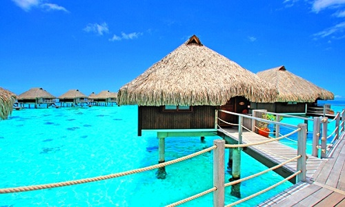 Hilton moorea lagoon-re-resortspa-overwater bungalow-immagine