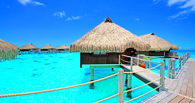 Hilton Moorea Lagoon Resort&Spa-King Overwater Bungalow