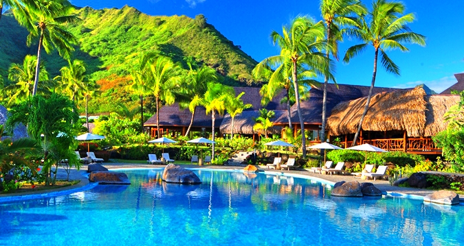 Hilton Moorea Lagoon Resort&Spa-Swimming Pool