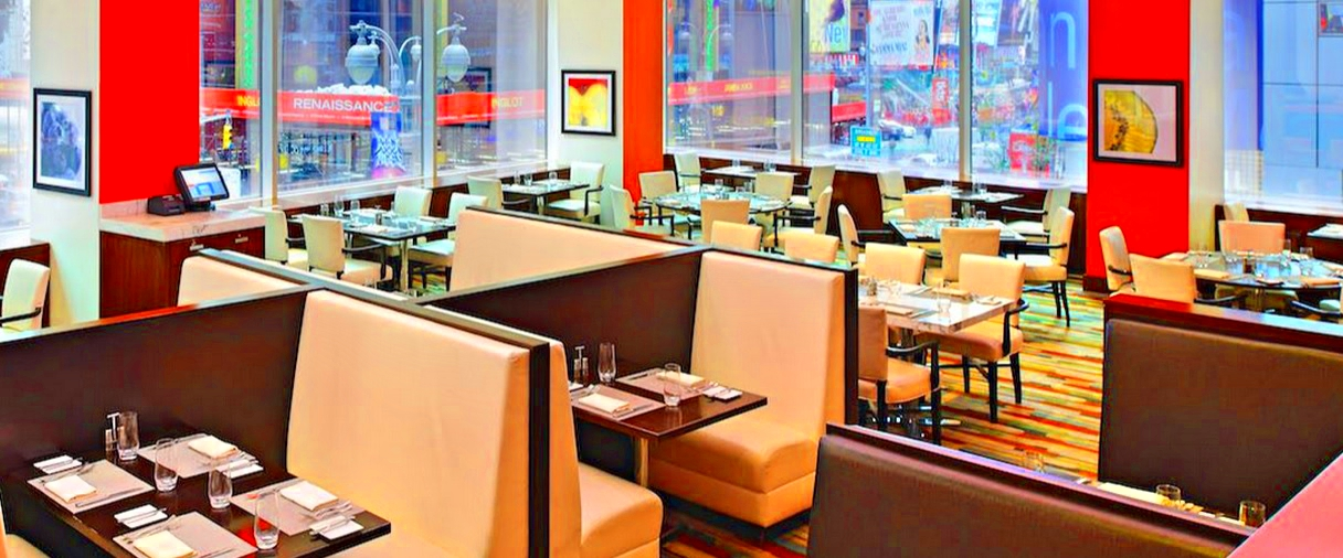 Hotel Crown Plaza Manhattan Times Square-Brasserie 1605