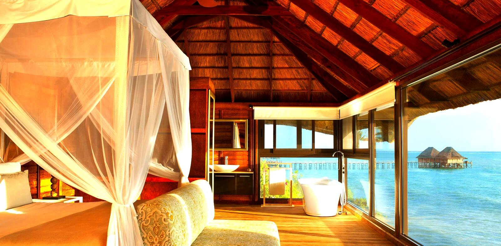 Melia Resort Zanzibar-Romance Ocean Front Pavilion