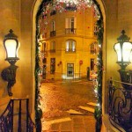 Balzac Hotel entrance Paris through the voice of Celine Dion