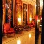 Balzac Hotel lobby Paris through the voice of Celine Dion