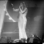 Celine Dion singing Je ne vous oublie pas-Paris through the voice of Celine Dion