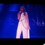 Celine Dion singing My heart will go on-Paris through the voice of Celine Dion