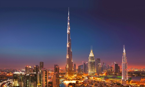 Burj khalifa-dubai-u-e-by-night-image
