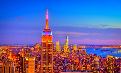 Empire-State-Building-New-York-u-s-of-by-Night-Image