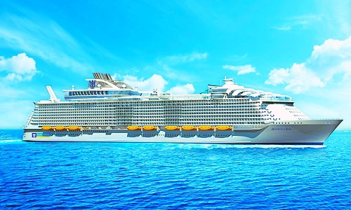Crucero harmony-of-the-seas-at-Sea-cruise-ship-of-the-world-imagen