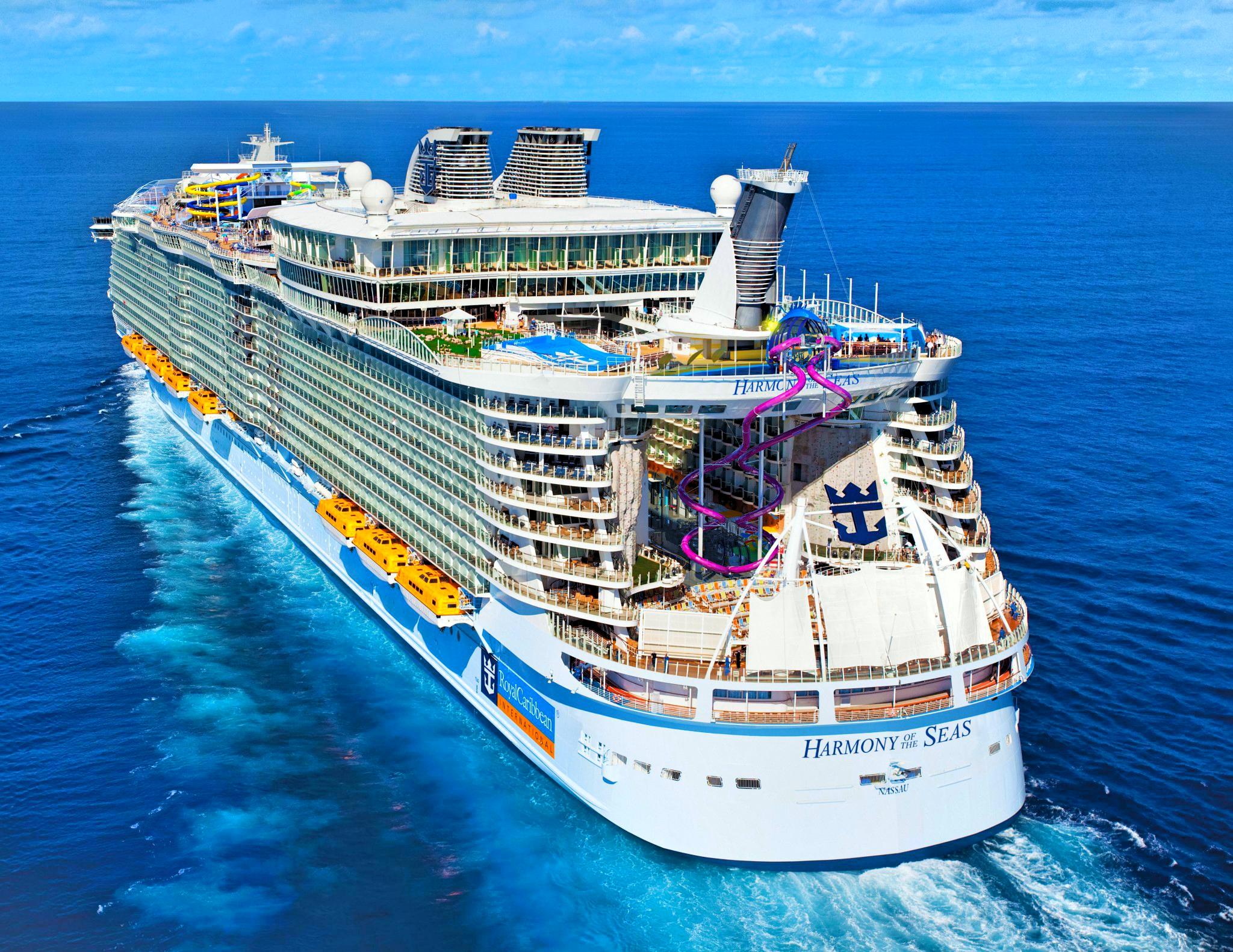 Harmony of the seas-cel mai mare vas de croaziera din lume