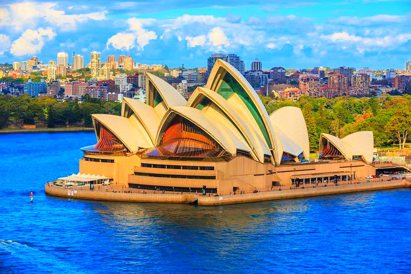Sydney Opera House-Sydney, Australia-by day